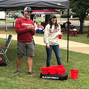 BucketBall Tailgate Game and Camping Game