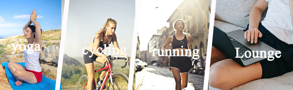 women shorts suit for many sports