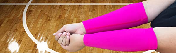 volleyball forearm sleeves