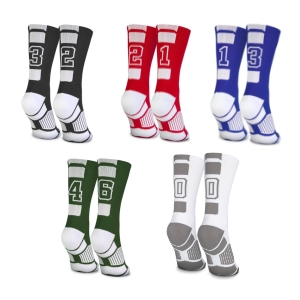 volleyball number socks