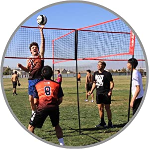 powernet 4 way volleyball net