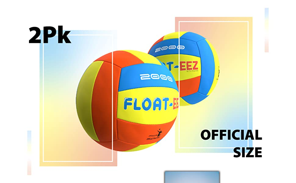 2Pk Official Size Volleyballs