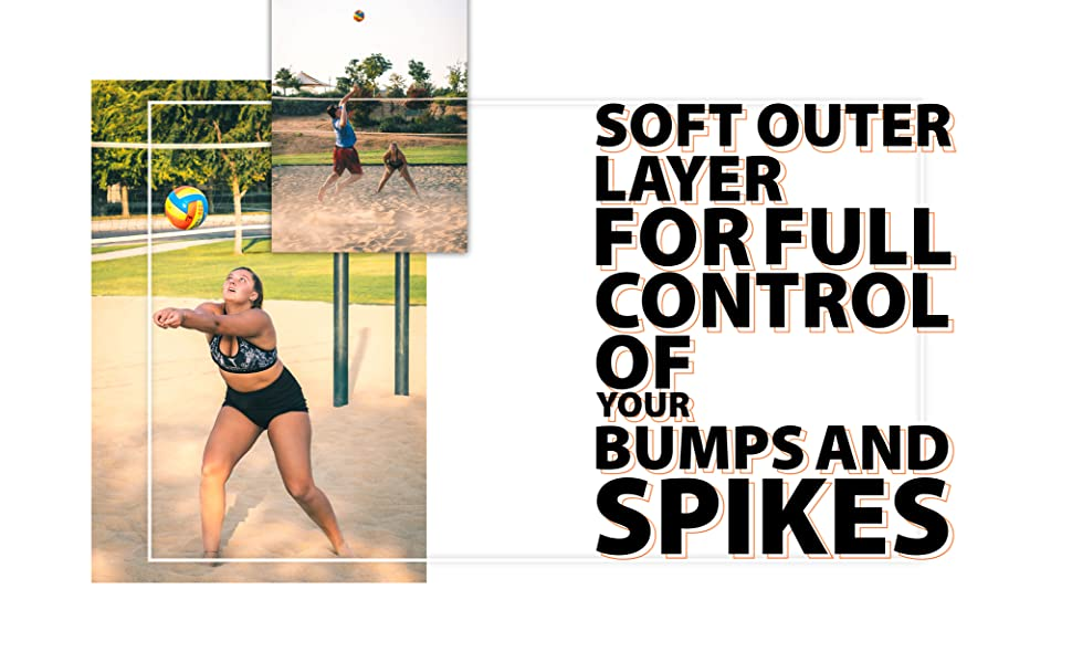 Textured grip for full control of your bumps and spikes