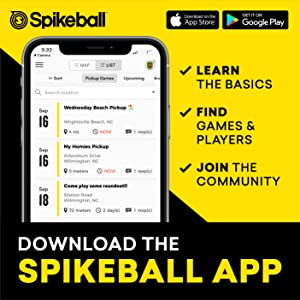 FIND PLAYERS AND GAMES ON THE APP