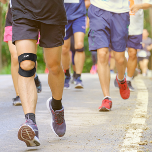 Bodyprox Dual Knee Strap for runners knee