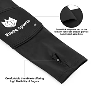 volleyball elbow sleeves