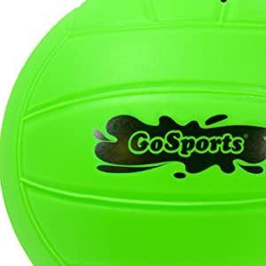 gosports volleyball water pool games summer fun kids adults lawn ball soft touch beginner inflatable