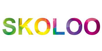 Colorful text image;Brand: skoloo