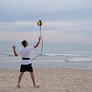 MOTOMY volleyball stuff for self training on the beach