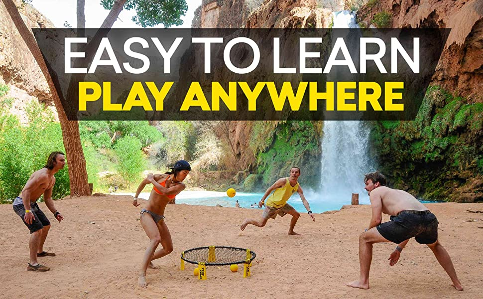 EASY TO LEARN, PLAY ANYWHERE