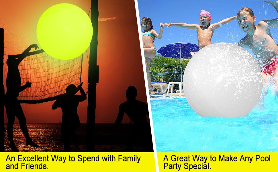 Beach balls for pool. Great pool toys and beach toys for kids and adults.