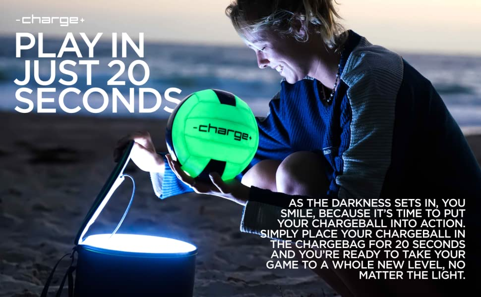 chargeball volleyball charge bag