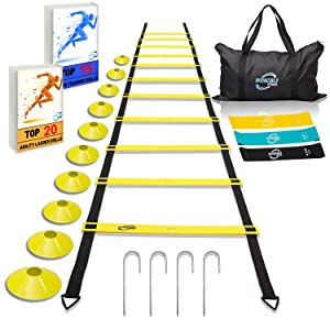 agility ladder and cones kit