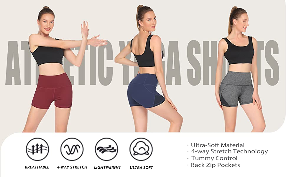 Women Active Volleyball Shorts