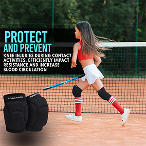 Bodyprox Volleyball Knee Pads for Junior Youth