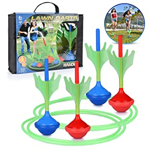 4 darts bag and rings toy