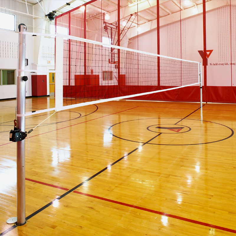 indoor portable volleyball net system